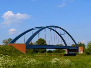 Die Havellandbrücke bei Strodehne