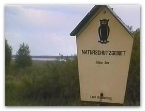 "Schild ""Naturschutzgebiet"""